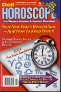 Picture of the Cover of Dell Horoscope Magazine, 01/2004